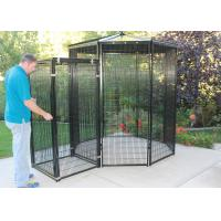 Wholesale 8' Dia Outdoor Parrot Aviary Wire Mesh Galvanized / Powder Coating Surface from china suppliers