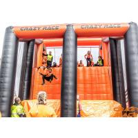 China Funny Adventurous Inflatable Drop Tower Jumping Games for Kids for sale