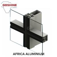 Wholesale High Quality Industrial Extruded Curtain Wall Aluminum Profile from china suppliers