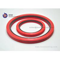Wholesale Silicone filled PTFE PEEK UHMWPE jacket 400A spring energized u-rings seals white black red blue green color from china suppliers