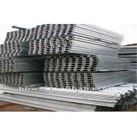 Wholesale Galvanized Cold Bending Equilateral / Unequal Channel Steel Q235B from china suppliers