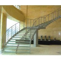 China Undular Pattern Anti Slip Glass For Stair Treads on sale
