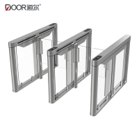 Wholesale 6 Sensors RS485 Acrylic Arm Turnstile Security Gates from china suppliers