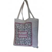 China Natural color 10az cotton Eco shopping bags personized printing Tote bag for sale