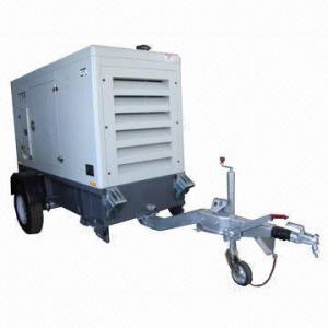 China Trailer Generator, Kubota Engine, 5 to 30KW on sale