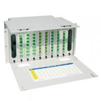 Wholesale Self Locking 24 Core Fiber Optic Distribution Frame , Optical Fiber Patch Panel from china suppliers