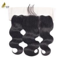 Wholesale 9A Undetectable Hairline 13x4 Swiss Lace Frontal Closure 100% Virgin Human Hair from china suppliers