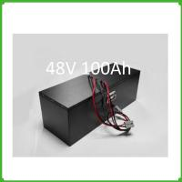 Wholesale Electric scooter battery 48v 100ah lithium ion batteries pack rechargeable for solar from china suppliers