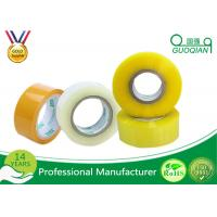 80M Length Clear Water Resistant Bopp Adhesive Tape High Temperature