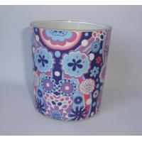2 kind of unique design decor  glass candle with 100% paraffin wax, for sale