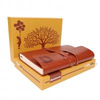 China Multi Functional College Ruled Journal , Leather Journal Gift Set For Women on sale