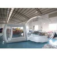 Wholesale Clear PVC 4m Single Tunnel Inflatable Bubble Tent With Blower from china suppliers