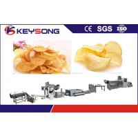 Wholesale Fried Puffed Potato Chips Making Machine Output 100 - 120kg / H Stable Performance from china suppliers