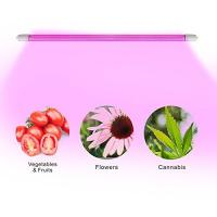 Wholesale 4 Feet IP65 LED Tube Grow Lights Aluminu PC With Water Joint , 120° Angle from china suppliers