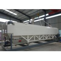 Quality Horizon type Cement Silo for batching plant for sale