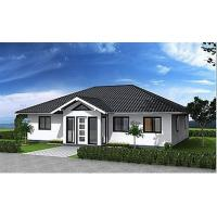 Wholesale Hurricane Resist Prefabricated Bungalow , Steel Structure Bungalow House from china suppliers