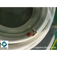 China Thermal Insulated PE Plastic Coated Copper Tube for Air Conditioning/ HAVC on sale