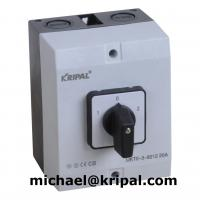 IP65 changeover switch with enclosure for sale