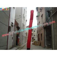China ODM 5 Meter high Single Leg Advertising Inflatable Air Dancer Tube for Business on sale