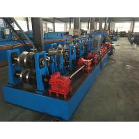 Hydraulic Standing Seam Roll Former , C Channel Roll Forming Machine For Steel Constructions