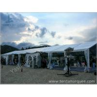 Wholesale 8x27M Outside custom event tents Aluminum Frame Built on the Coast from china suppliers