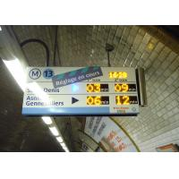 Best High Definition Panel Mount Electronic Information System For Paris Metro Line 13 wholesale