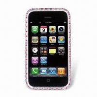 Wholesale Lightweight Crystal Case for iPhone 3GS, Provides Strong Layer of Protection from china suppliers
