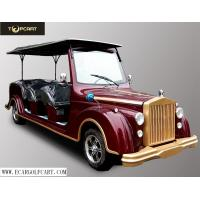 48V 8 Seater Electric Classic Car With Aluminum Chassis For Sightseeing for sale