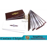 China Smart Baccarat Gambling Systems Special Recording Paper Showing The Result for sale
