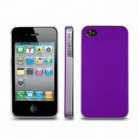 Wholesale Cases for iPhone 4, Various Colors are Available, UV Coating Skill from china suppliers