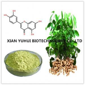 Wholesale luteolin powder 98%,arachis hypogaea extract luteolin,pure luteolin extract,luteolin p.e. from china suppliers