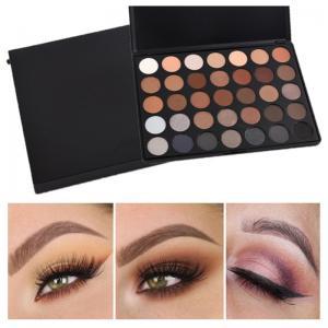 35 Color Mineral Makeup Eyeshadow Custom Makeup Palette Morphe Eyeshadow