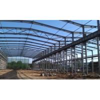 Wholesale ASTM Standard Good Quality Workshop Steel Structure- 1500㎡ with Blue Color from china suppliers