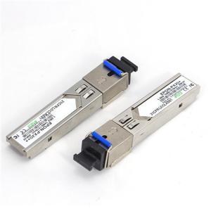 Wholesale 1310/1490nm EPON OLT SFP PX20+ 1.25G Simplex PON SFP Fiber Transceiver SC Connector from china suppliers