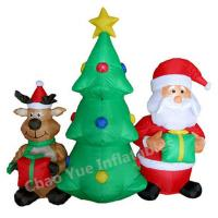 2015 Hot Sale LED Inflatable Christmas Tree Decorations for Christmas Holiday