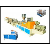 Wholesale PVC Plastic Glazed Roof Tile Making Machine /  Plastic Sheet Extrusion Line from china suppliers