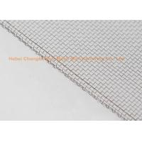 Wholesale Standard Stainless Steel Filter Screen Corrosion Resistant , Stainless Steel Woven Wire Cloth from china suppliers