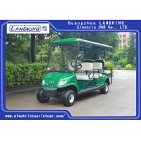 Wholesale Battery Powered Road Legal Electric Golf Carts For 6 Person Max. Speed 24km/h from china suppliers