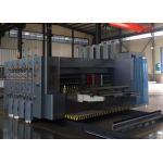 China 4 Colors Flexo Printer Slotter Machine / Carton Box Packing Machine for sale