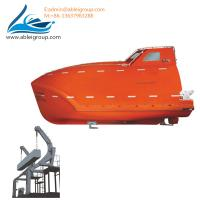 Wholesale Freefall Lifeboat 19 Person Capacity and Launching Appliance For Sale ABS Certificate from china suppliers