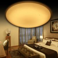 Modern Design 56W Dimmable Kitchen Ceiling Lights CCT Adjustable For Bedroom / Study
