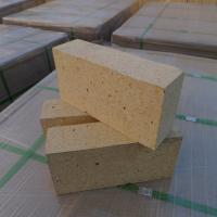 Wholesale Customized Size Heat Resistant Bricks , High Alumina Fire Bricks Natural Yellow Color from china suppliers