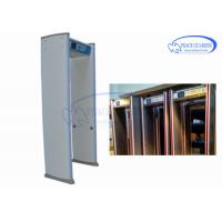 Wholesale Capture Picture 24 Zones Walk Through Metal Detector With 255 Level Sensitivity from china suppliers