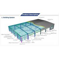 China Modern Cheap Prefab Steel Structure WareHouse for sale