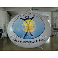 Wholesale Giant Oval Balloon with Logo Printed for Sporting events, Inflatable ground balloons from china suppliers