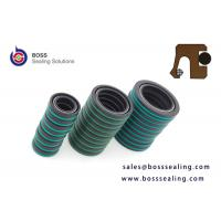 Wholesale Carbon fiber filled PTFE rotary spring energized seals with FPM o ring for chemical pump Rexroth from china suppliers