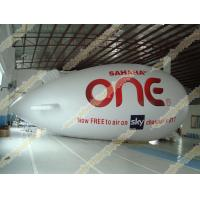 Wholesale Inflatable advertising helium zeppelin with UV Protected Printing 0.18mm PVC for opening event, outdoor advertising from china suppliers
