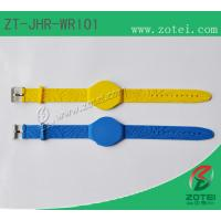 Buy cheap RFID Soft PVC wristband tag (Watch Band Clasps, Product model: ZT-JHR-WRI01) from wholesalers