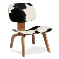 China Mid Century Modern DCW Plywood Replica Chair With Pony Skin For House on sale