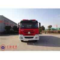 Wholesale Foam Fire Service Vehicle 10180×2500×3650mm Dimension With Double Row Structure Cab from china suppliers